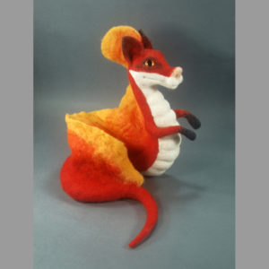 needle-felted-fox-fire-dragon-magical-creature