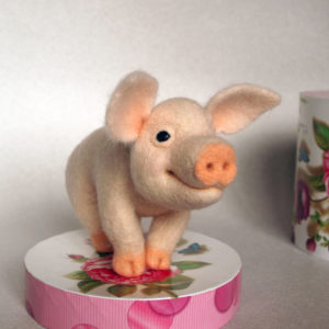 needle-felted-pink-piglet