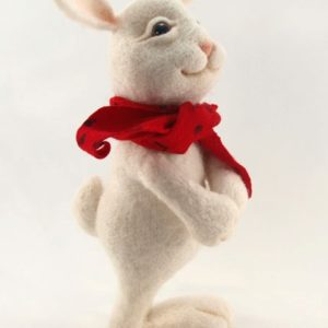needle-felted-cute-white-bunny-with-red-scarf